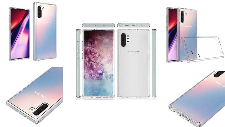 Samsung Galaxy Note 10 İçin Yeni Sızıntı