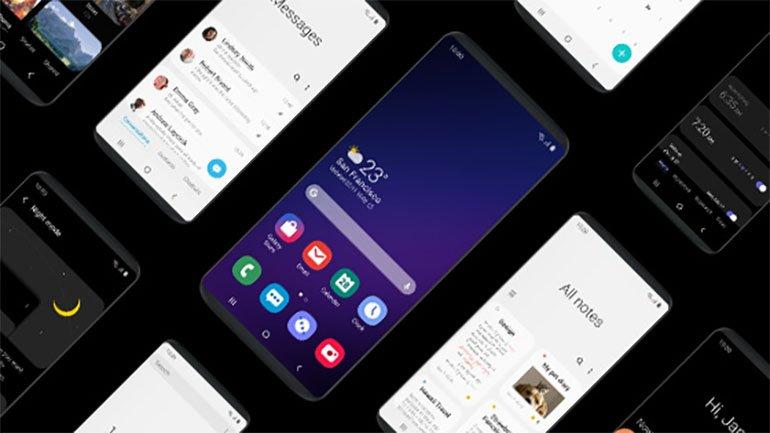 Android Q, Samsung Ceplere One UI 2.0'ı Getirecek