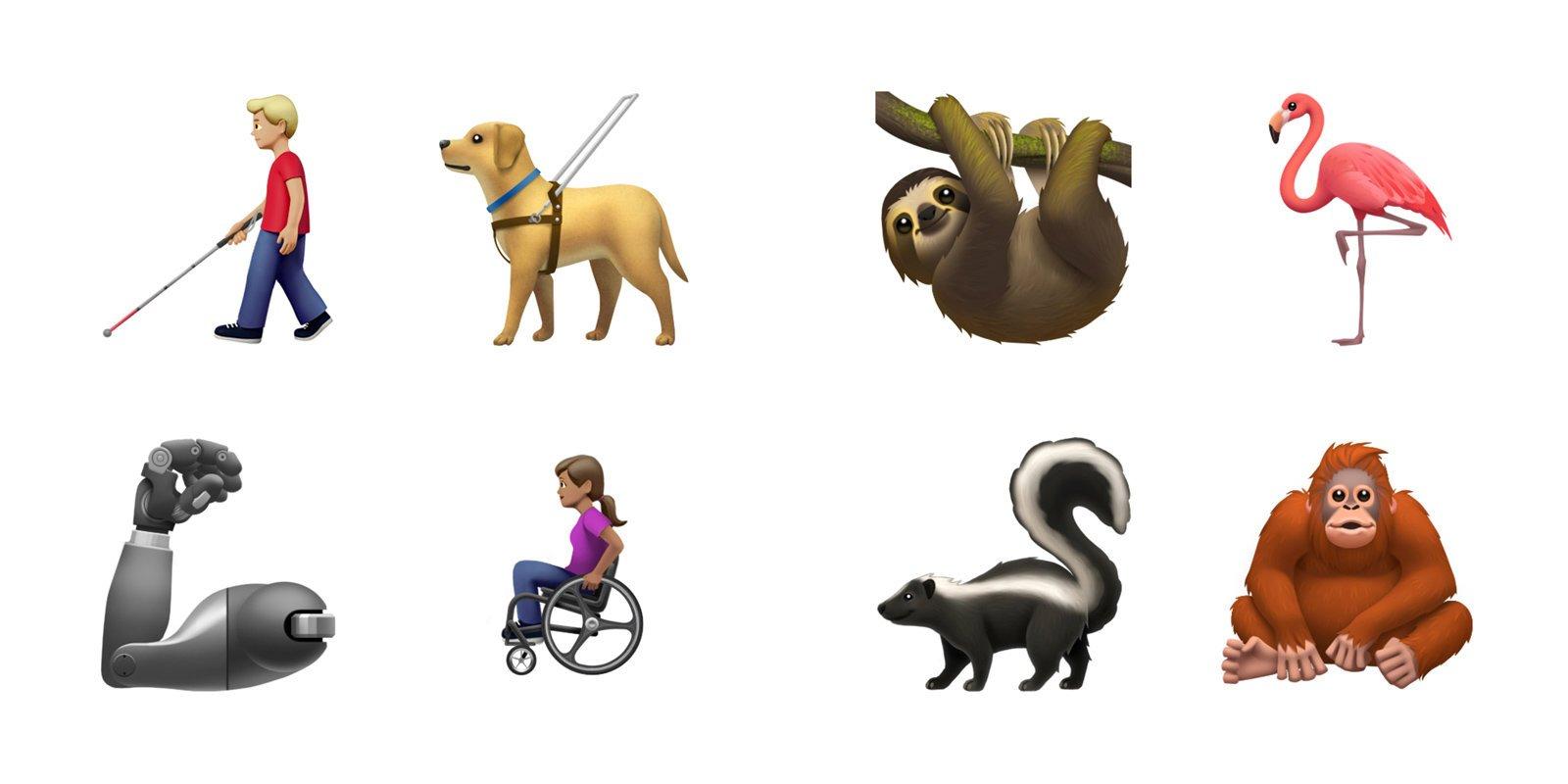 Apple ve Google, 2019 Emojilerini Gösterdi!