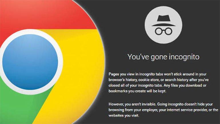 Chrome, Gizli Modu Tamir Edecek