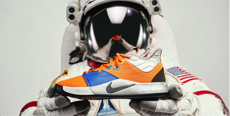 "Nike PG3 ""NASA,"" ""Apollo Missions"" ve ""NASA 50th"""
