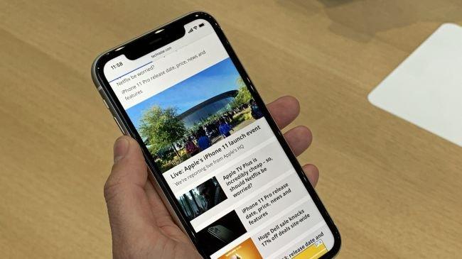 iPhone 11: Ekran
