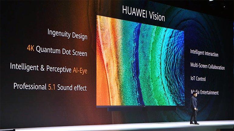 Huawei, Yeni 4K Televizyonu Huawei Vision'ı Tanıttı