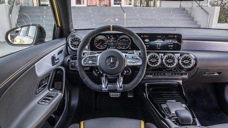 Mercedes-AMG ailesine uygun tasarım
