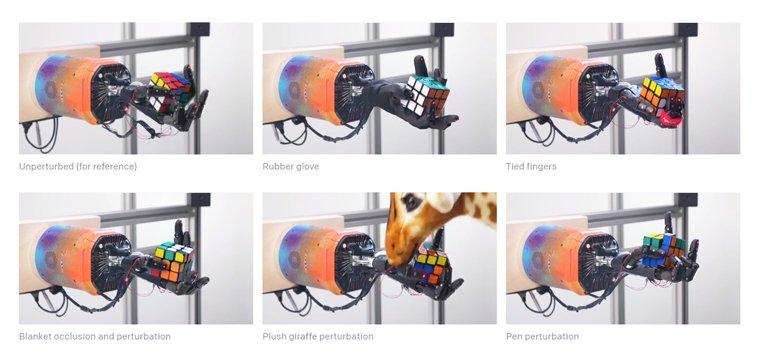 Robot El Dactyl'e Rübik Küpünü Çözmeyi Öğrettiler!