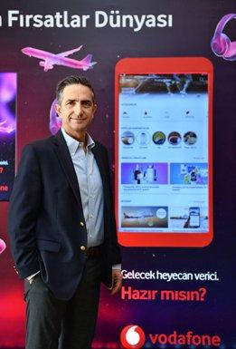 Vodafone Yanımda Fırsatlar Dünyası'nı Tanıttı