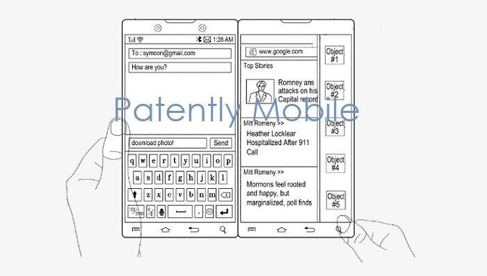 Samsung'tan Surface Duo Benzeri Cihaz Patenti