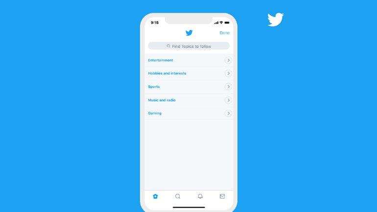 Twitter'dan Yeni Özellik: Konu Başlıkları