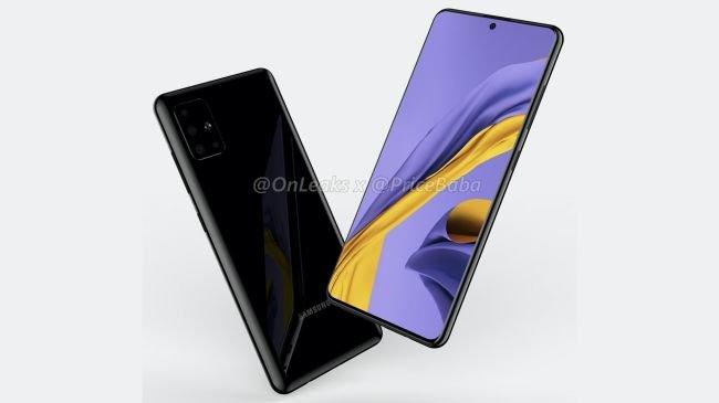 Samsung Galaxy A51 Fotoğraflarıyla Sızdı!