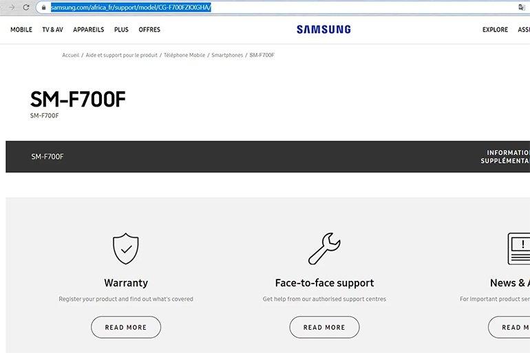 Samsung Afrika, Galaxy Fold Hazırlığına Başladı