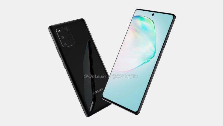 Samsung, Galaxy A91 ile Yeni Tasarım Deneyecek