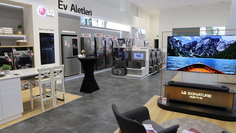 Tüm Yenilikler Türkiye'nin En Büyük LG Brand Shop'unda