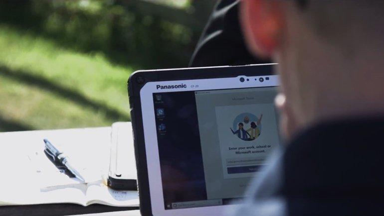 Panasonic TOUGHBOOK Tableti Uzaya Gönderdiler