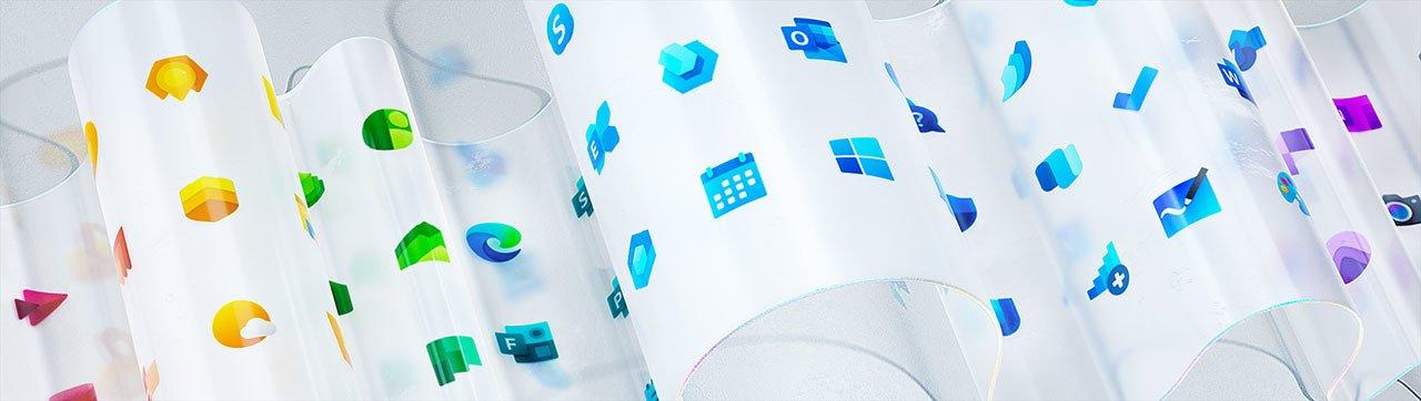 Microsoft'un Yeni Tasarladığı Simgeler Göründü