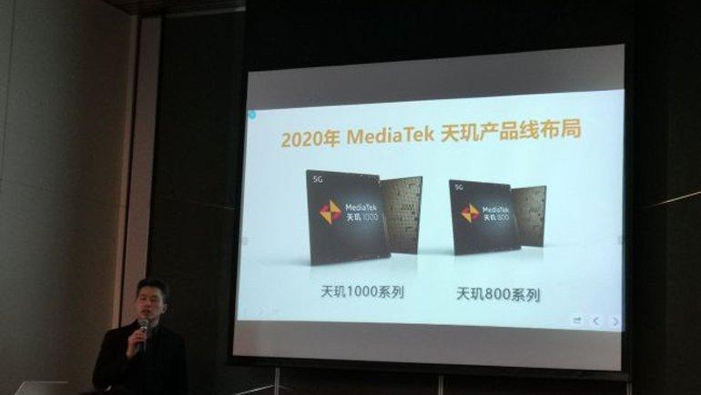 MediaTek, Orta Segmente 5G Getirecek