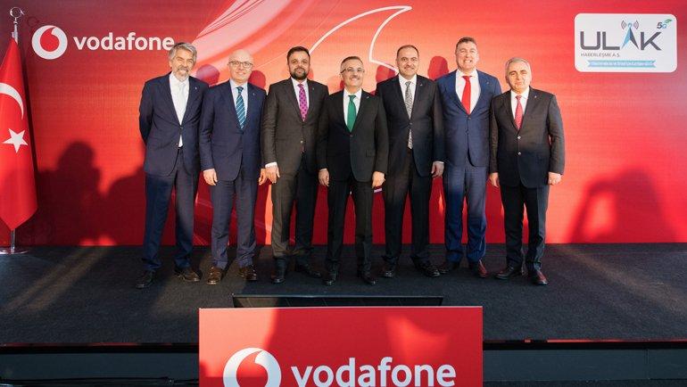 Vodafone Yerli Baz İstasyonu Ulak'ta Rekor Kırdı!