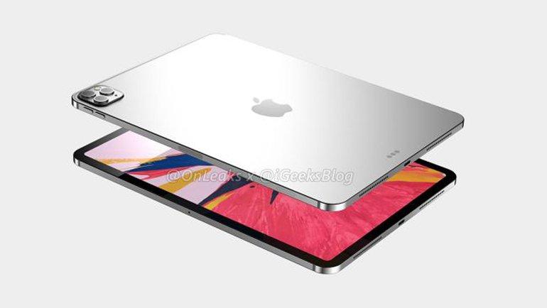 iPad Pro 2020 Yeni Kamera Sistemiyle Gelecek