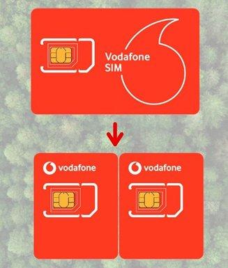 Vodafone'dan yeni SIM Kart Uygulaması!