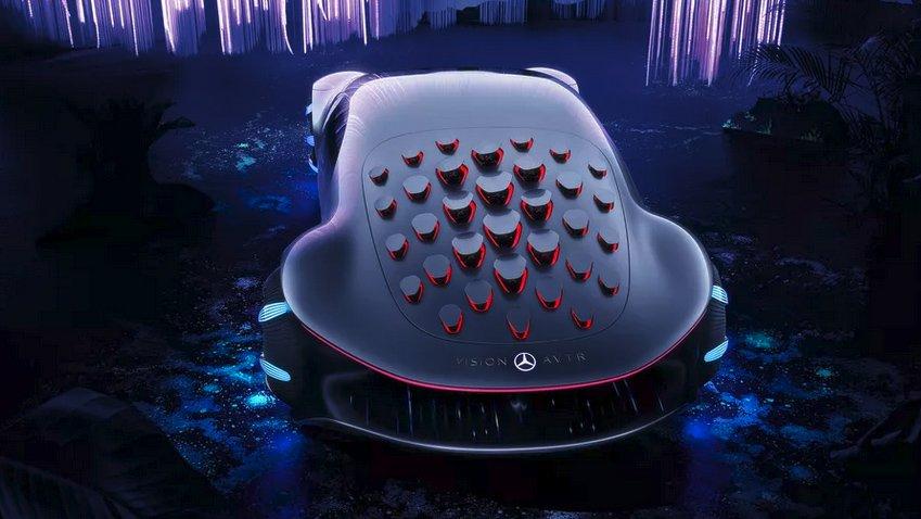 Mercedes'ten Avatar'dan Esinlenen Otomobil Konsepti