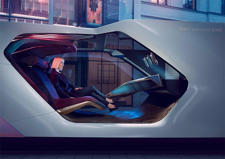 BMW'nin Geleceğin Otombili Hayali CES'te Ortaya Çıktı