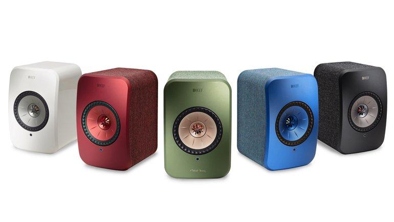 Sevgilinizi KEF/LSX Kablosuz Stereo Hoparlör ile şımartın