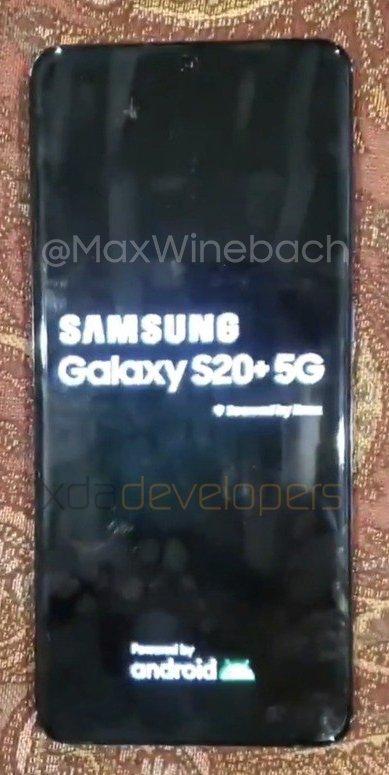Galaxy S20 Plus, Büyük Kamera Bloğuyla Sızdı