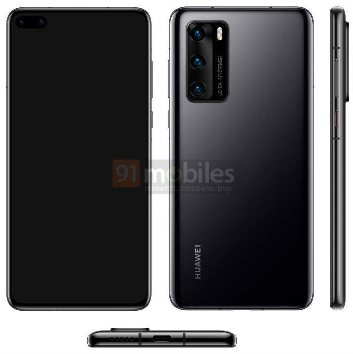 Huawei P40'ta Ön Kamera Sürprizi!