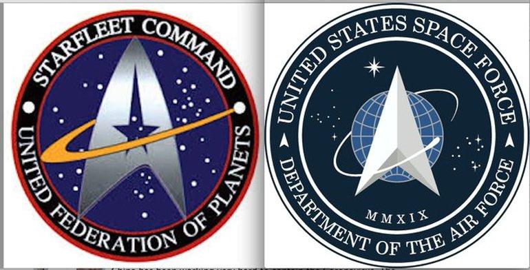 ABD Uzay Kuvvetleri Logosu, Star Trek Hayranlarını Kızdırdı!