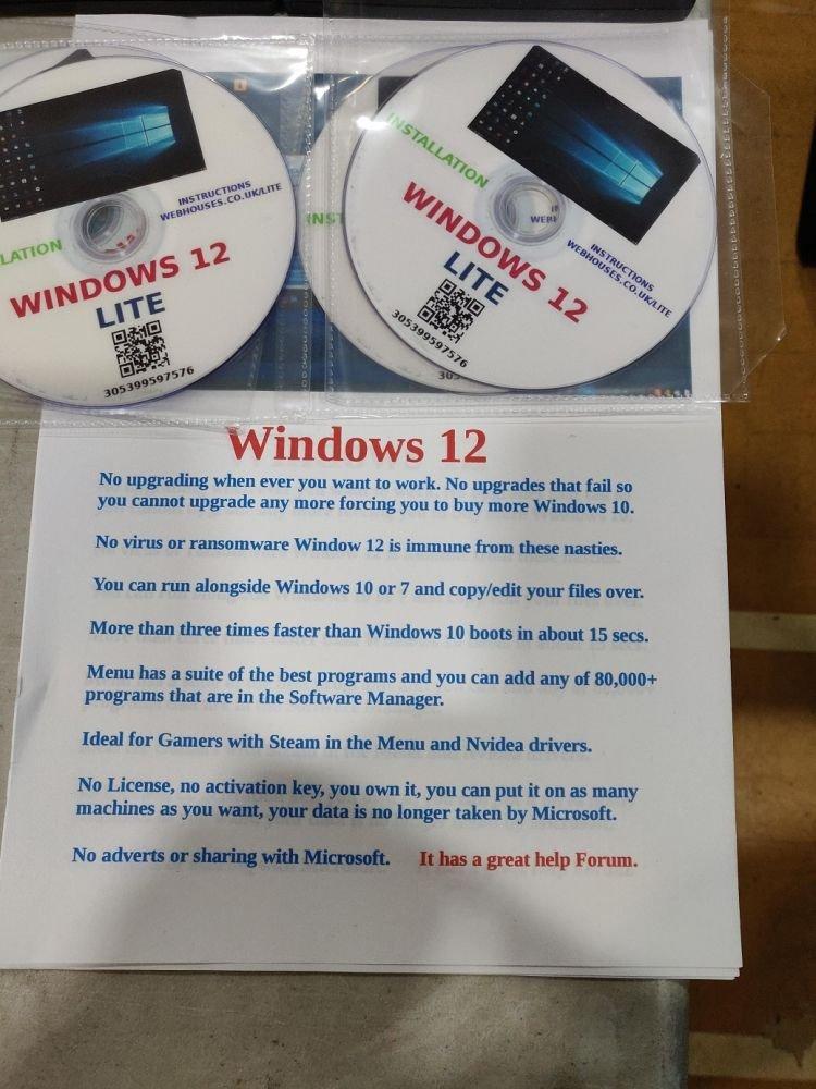 Windows 10'dan Bıktınız mı? Windows 12 Lite ile Tanışın