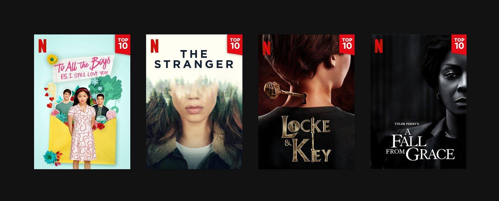 Netflix, Top 10 İşlevini Dünya Çapında Kullanıma Açtı