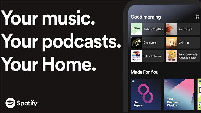 Spotify, Giriş Ekranını Yeniledi