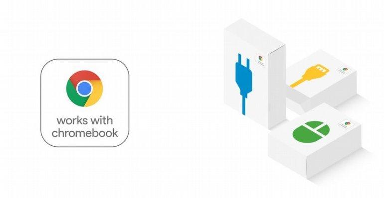 Google, Chromebook Aksesuarları İçin Yeni Onay Logosunu Tanıttı