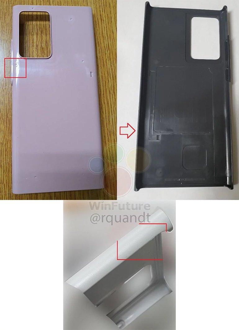 Galaxy Note 20'nin Tasarımından Önemli İpuçları