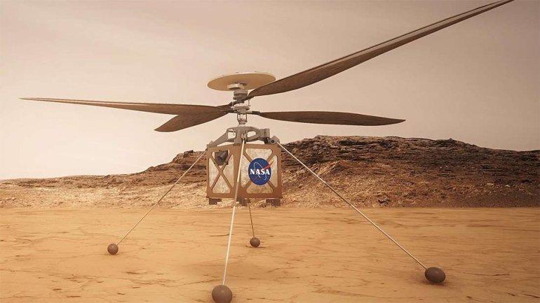 NASA Mars'a helikopter de gönderecek