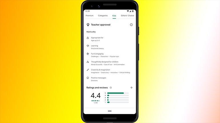 Google Play Store'a Yeni Bir Bölüm Geldi