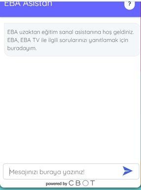 Yapay Zeka, EBA'nın En Etkili Şekilde Kullanılması İçin Devrede!