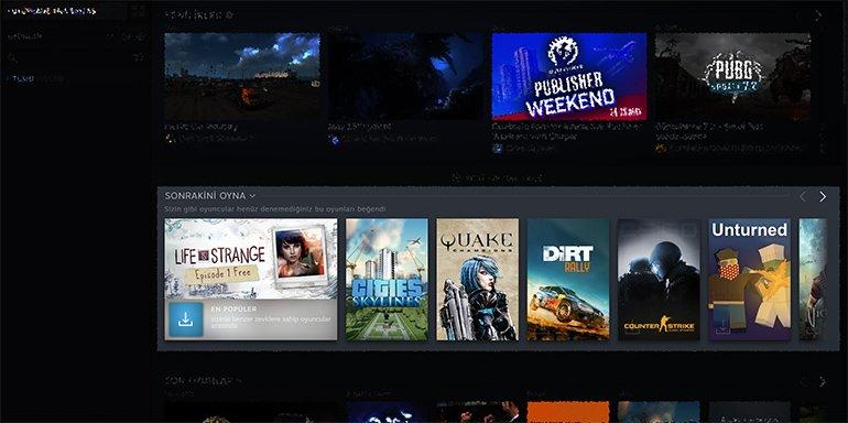 Şimdi Hangi Oyunu Oynayalım? Bırakın, sizin Yerinize Steam Karar Versin