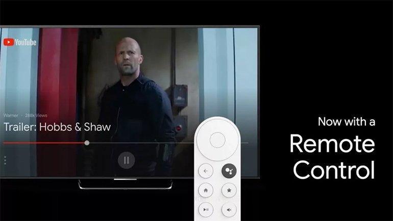 Chromecast'in 2020 Modeli, Yanında İlk Kez Bir Kumanda Getirebilir