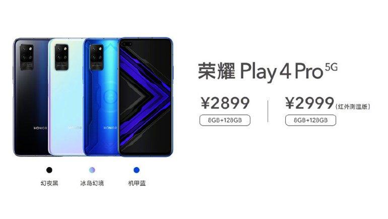 Honor Play 4 ve Play 4 Pro Tanıtıldı: İşte Özellikleri ve Fiyatları