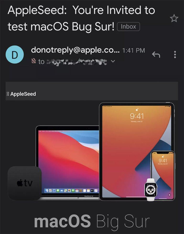 "Apple'dan Şaşırtan Gaf: macOS Big Sur, macOS ""Bug Sur"" Oldu"