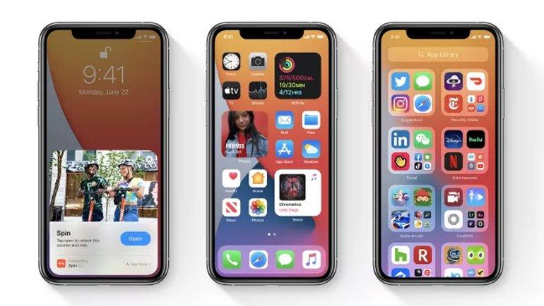 iOS 14'teki iPhone 12 ipuçları