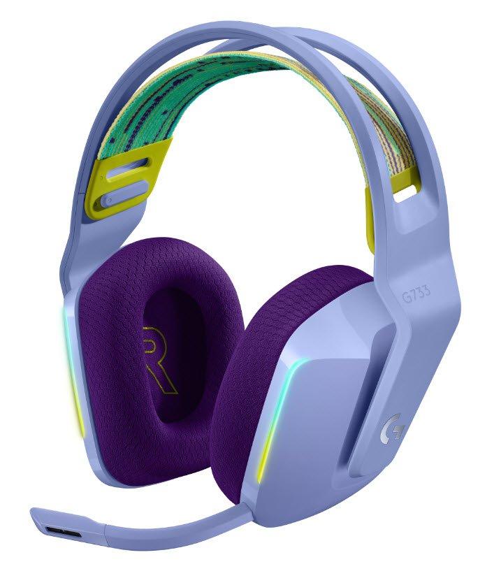 Logitech, G733 Kablosuz Oyuncu Kulaklığı