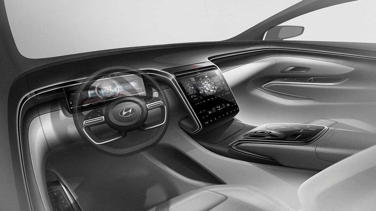 Hyundai'ın Tamamen Değişen SUV modeli Yeni Tucson, Ortaya Çıkıyor