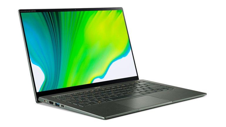 Acer, Yeni 11. Nesil Intel İşlemcili Swift 5 ve Swift 3 Laptop'ları Tanıttı