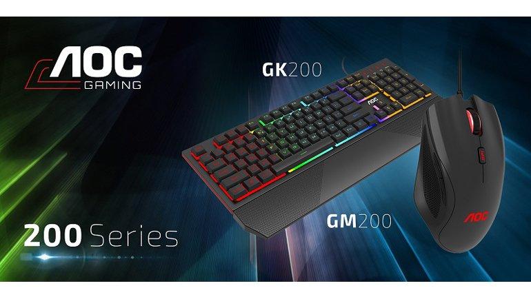 AOC AGON 700 serisi AGK700 Klavye ve AGM700 Fare Tanıtıldı!