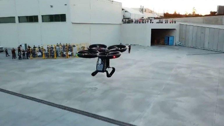 Türkiye'nin ilk uçan arabası 'Cezeri' uçuş testlerini ...