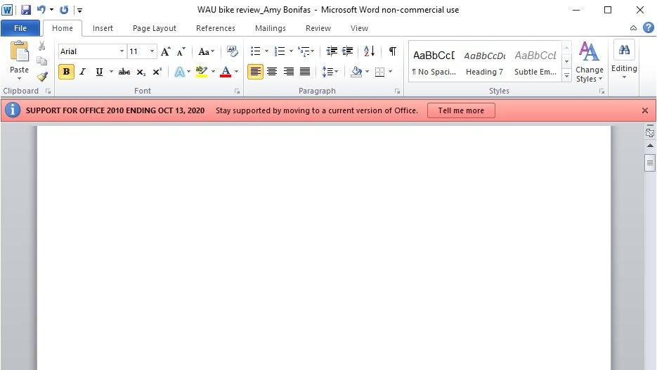 Microsoft Office 2010 İçin Yolun Sonu Çok Yakında Geliyor