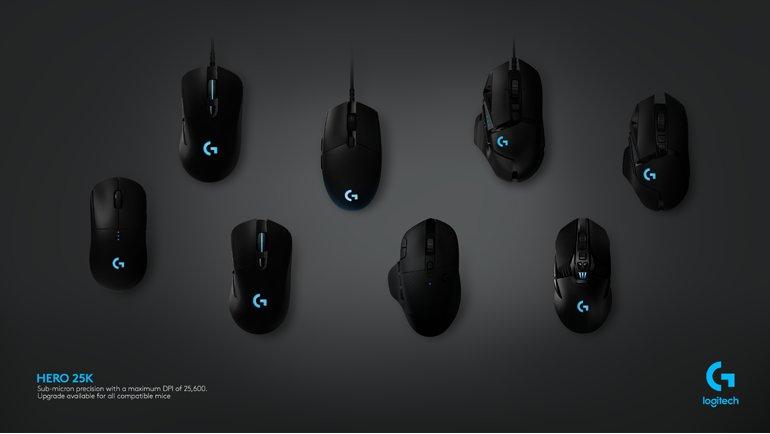 Logitech G, Mouse'larını 25K Sensörüne Yükseltti!
