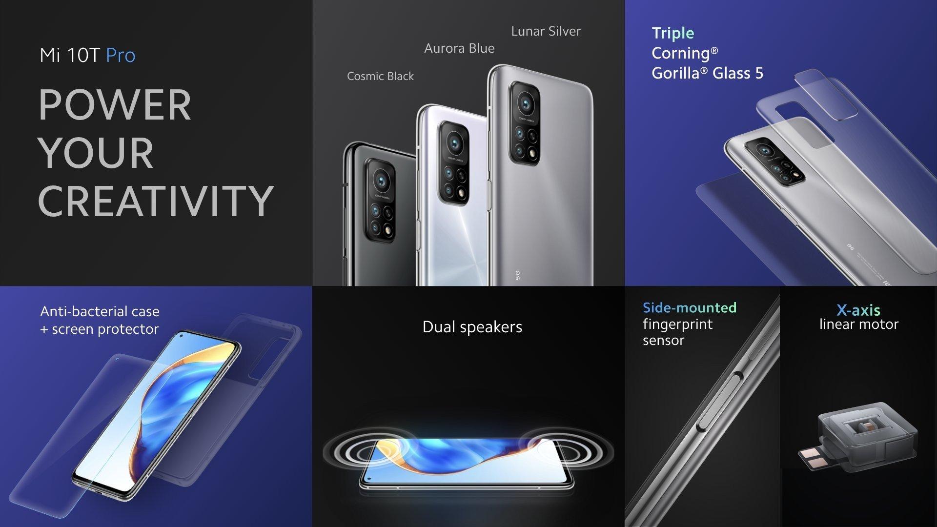 Xiaomi Mi 10T ve Xiaomi Mi 10T Pro Tanıtıldı