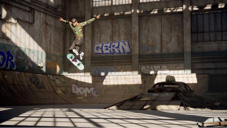 Tony Hawk's Pro Skater 1+2 Karakter Özelleştirme